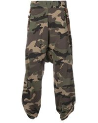 Mostly Heard Rarely Seen - Loose Fit Camouflage Track Trousers - Lyst