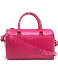Saint Laurent - Classic Duffle 6 Leather Bag - Lyst