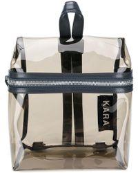 Kara - Logo Zipped Backpack - Lyst