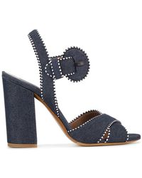 Tabitha Simmons - Andres Denim Sandals - Lyst