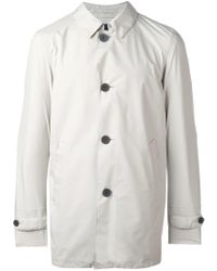 Herno - Classic Buttoned Coat - Lyst