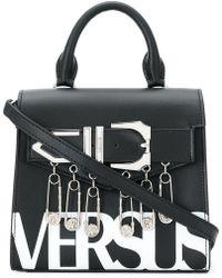 Versus - Safety Pin Logo Handbag - Lyst