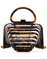 Cult Gaia - Tortoiseshell Lilleth Mini Acrylic Bag - Lyst