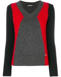 DSquared² - Knitted Jumper - Lyst