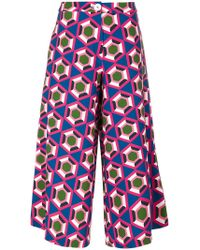 Parden's | Printed Cropped Pants | Lyst