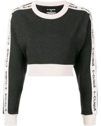 Pinko - Clique Cropped Jumper - Lyst