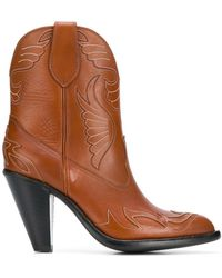 Givenchy - Western Style Ankle Boots - Lyst