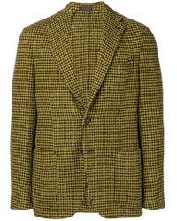 The Gigi - Checked Tailored Blazer - Lyst