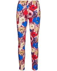 Vivetta - Floral leggings - Lyst