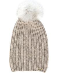 Woolrich - Cashmere Beanie Hat - Lyst