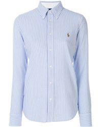Ralph Lauren - Striped Shirt - Lyst