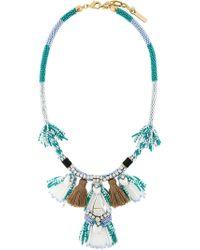 Rada' - Tassel Fringed Necklace - Lyst