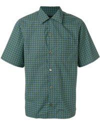 Prada - Printed Bowling Shirt - Lyst