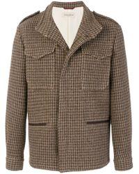 Al Duca d'Aosta - Short Tweed Coat - Lyst