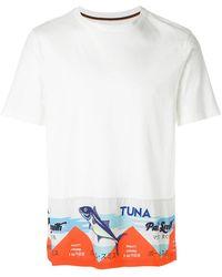 Paul Smith   Tuna Print T-shirt   Lyst