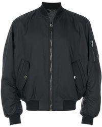 Versace - Zipped-up Bomber Jacket - Lyst