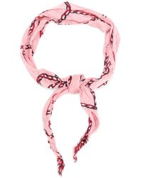 Pinko - Printed Scarf - Lyst