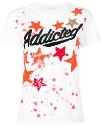 P.A.R.O.S.H. - Addicted Star T-shirt - Lyst