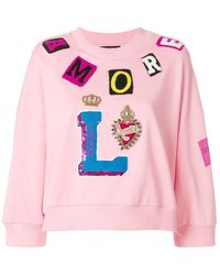 Dolce & Gabbana | Patch-work Sweater | Lyst