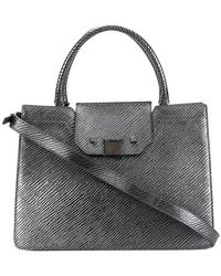Jimmy Choo - Rebel Embossed Tote Bag - Lyst