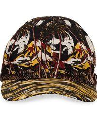 Prada - Cappello con stampa tropical - Lyst