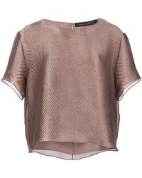 Sally Lapointe - Sheen Textured Top - Lyst