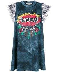 Amen | Printed Tie Dye Top | Lyst