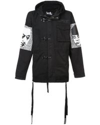 Haculla - They're Here Parka Coat - Lyst