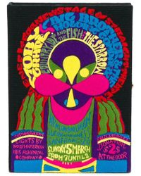 Olympia Le-Tan - Clutch Moby Grape - Lyst