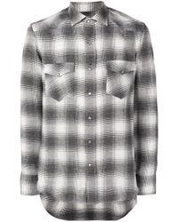 Salvatore Piccolo - Striped Print Loose Shirt - Lyst
