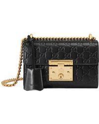 Gucci - Padlock Signature Leather Shoulder Bag - Lyst fd4d3de3b0ff5