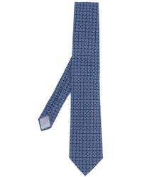 Fashion Clinic - Floral Print Tie - Lyst