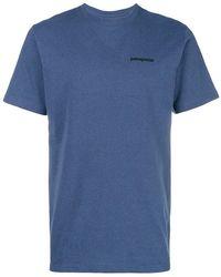 Patagonia - Logo Print T-shirt - Lyst
