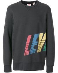 Levi's   Logo Print Sweatshirt   Lyst