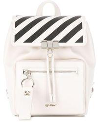 Off-White c/o Virgil Abloh - Diagonal Stripe Backpack - Lyst