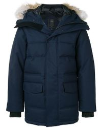 Canada Goose - Fur-trimmed Hooded Coat - Lyst