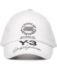 Y-3 - Branded Street Cap - Lyst