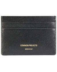 Common Projects - Logo Stamp Cardholder - Lyst