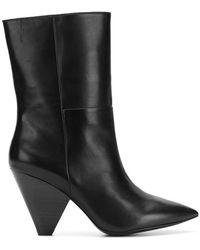 Ash - Tapered Heel Ankle Boots - Lyst