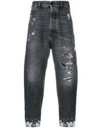Diesel Black Gold - Jeans in Distressed-Optik - Lyst