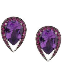 Shaun Leane - Aurora Stud Earrings - Lyst