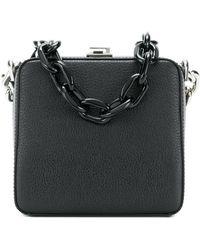 the VOLON - Chunky Chain Box Bag - Lyst