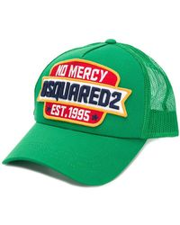 DSquared² - No Mercy Patch Baseball Cap - Lyst