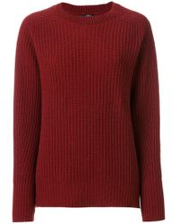 ODEEH - Ribbed Jumper - Lyst