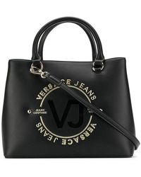 Versace Jeans - Logo Tote Bag - Lyst