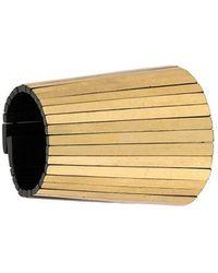 Monies - Wood Maxi Bracelet - Lyst