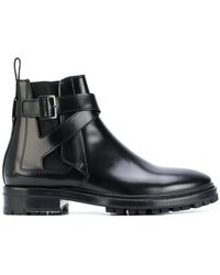 Lanvin | Buckled Chelsea Boots | Lyst