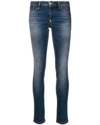 Philipp Plein - Faded Skinny Jeans - Lyst