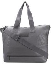 adidas By Stella McCartney Quilted Gym Bag in Pink - Lyst 9310af84a7