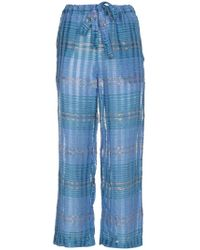 A Peace Treaty - Arima Cropped Trousers - Lyst